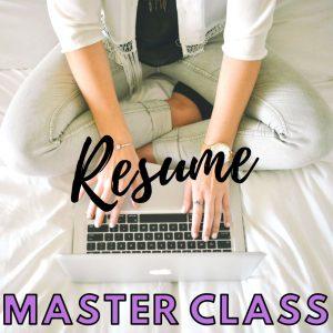 Resume Master Class logo